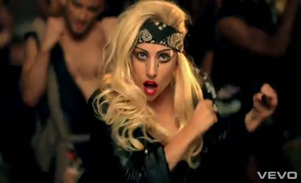 lady gaga judas video stills. 2011 lady gaga judas video