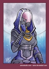 Mass Effect Drinks: Tali'Zorah vas Normandy*